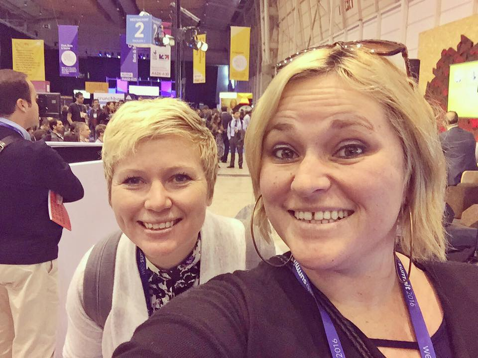 Alyson & Kelly Hit Up WebSummit